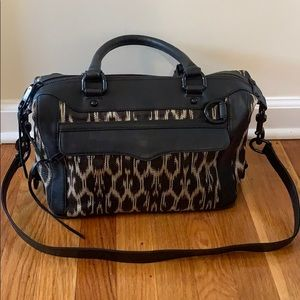 Rebecca Minkoff brown and cream purse. Never worn